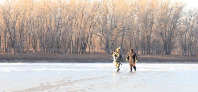 На первый лёд